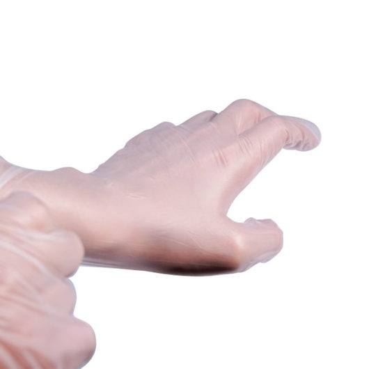 smooth touch disposable vinyl gloves