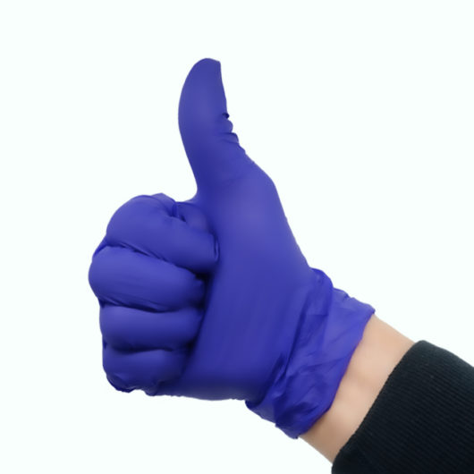 latex free powder free nitrile exam gloves
